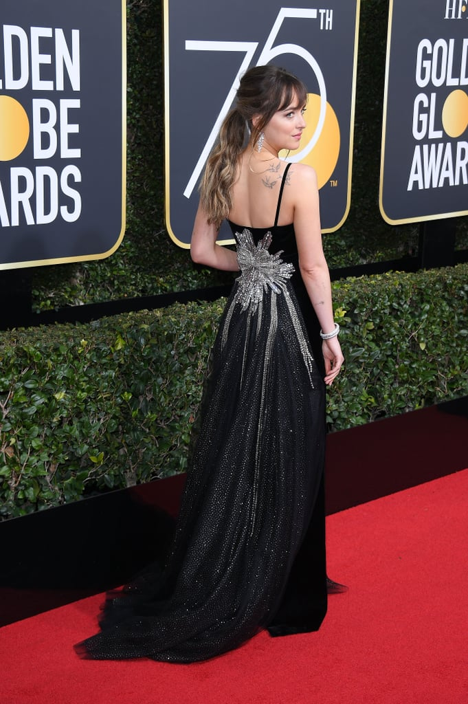 These Golden Globe Dresses Were All Business in the Front and Party in the Back