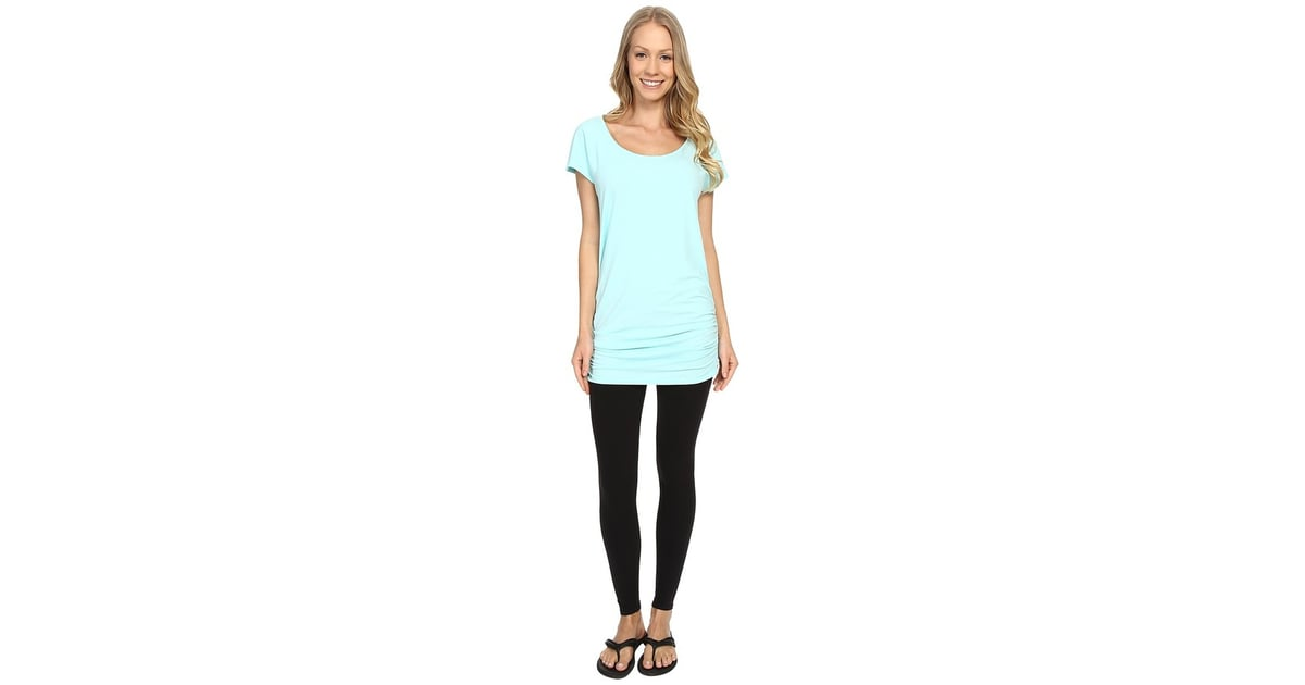 38aa9210e84 Lucy Yoga Girl Tunic Top | Mint-Green Workout Clothes | POPSUGAR Fitness  Photo 33