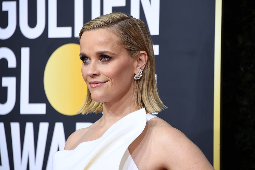 Reese Witherspoon's Flipped-Out Bob at the 2020 Golden Globes