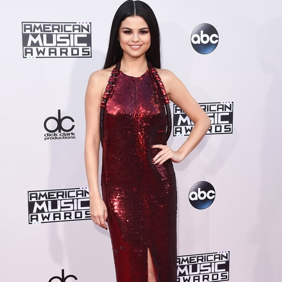 Selena Gomez on the 2015 American Music Awards Red Carpet