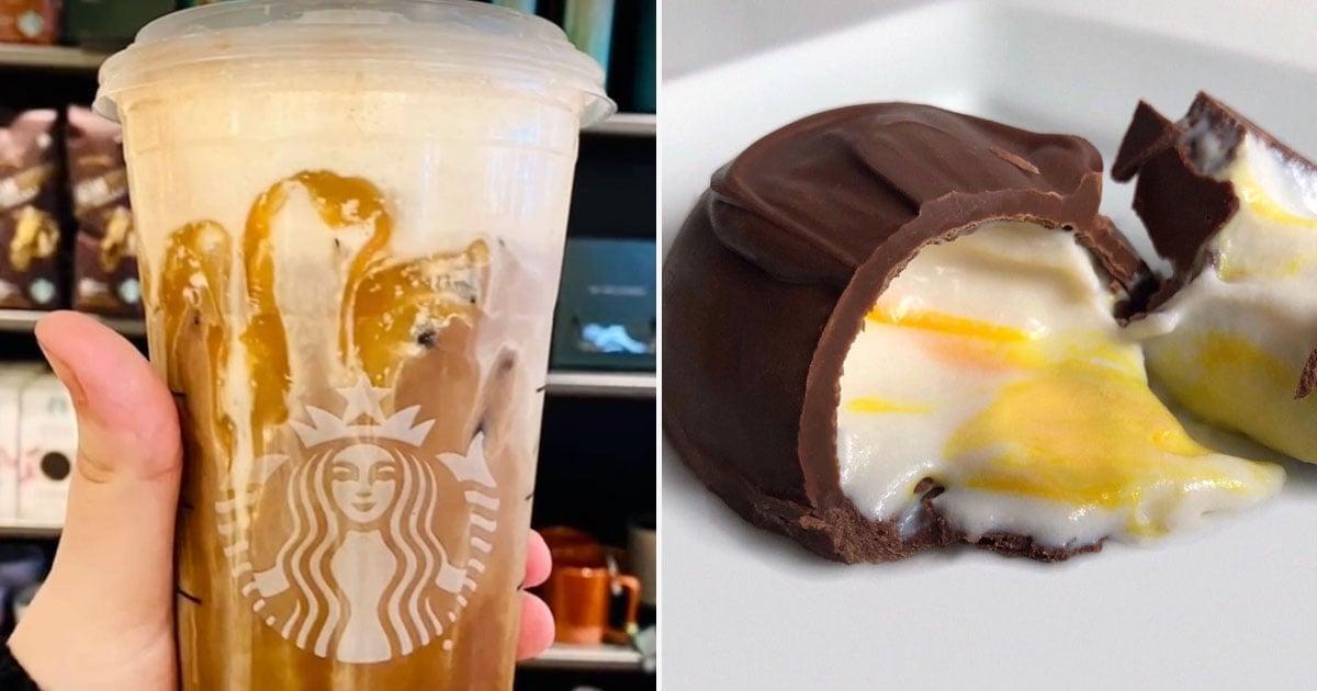 This Secret Mocha Cold Brew From Starbucks Tastes Like a — Drumroll Please — Cadbury Creme Egg!