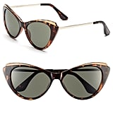Isaac Mizrahi Cat-Eye Sunglasses