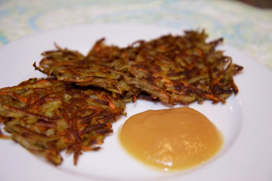 Carrot Rosemary Potato Latkes