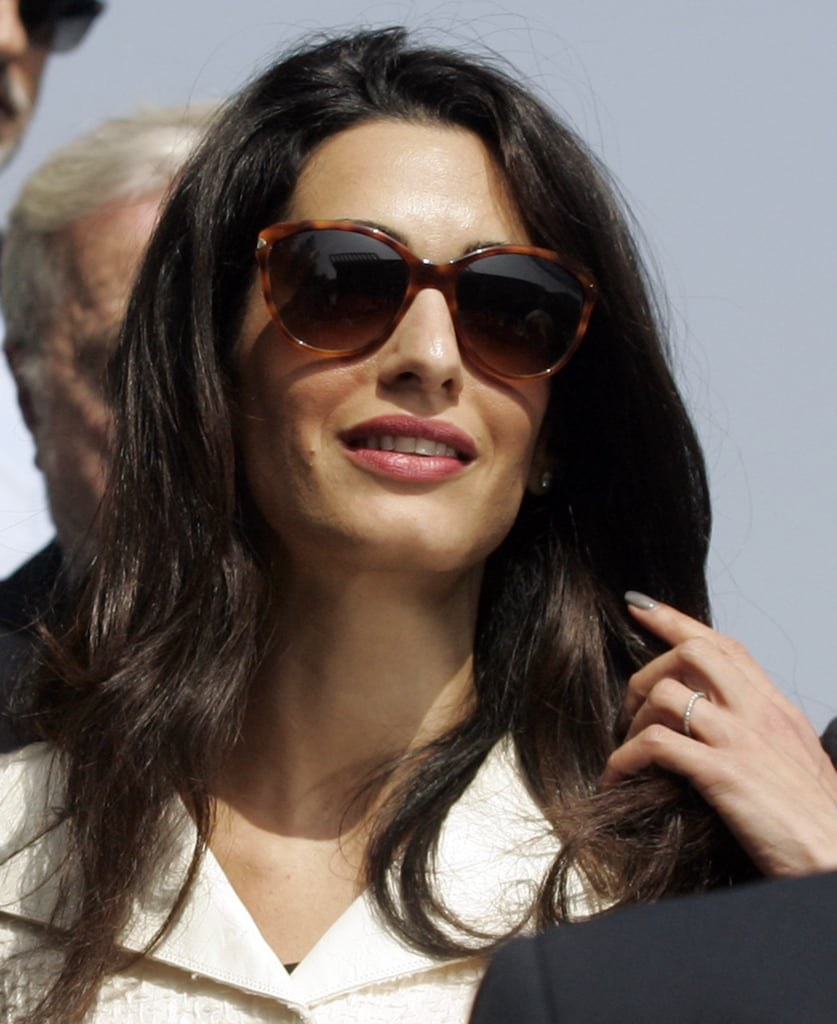 Amal Alamuddin Clooney Hair And Makeup Photos Popsugar