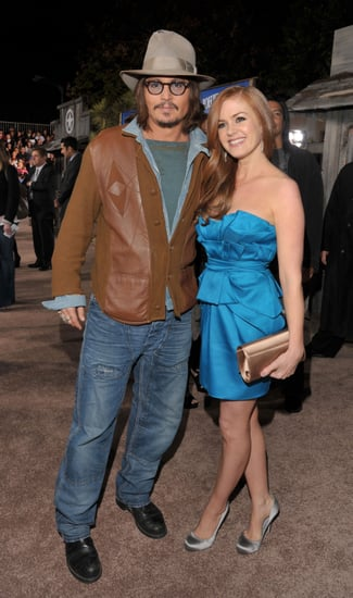 Pictures of Johnny Depp and Isla Fisher at Rango Premiere in LA