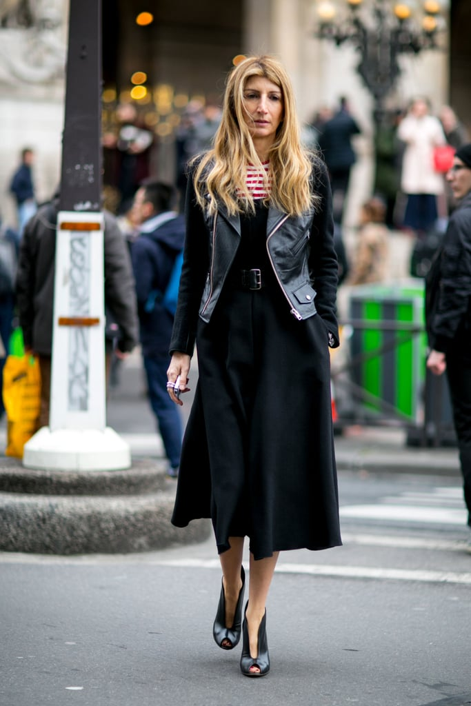 Sarah Rutson at Fashion Week Fall 2016