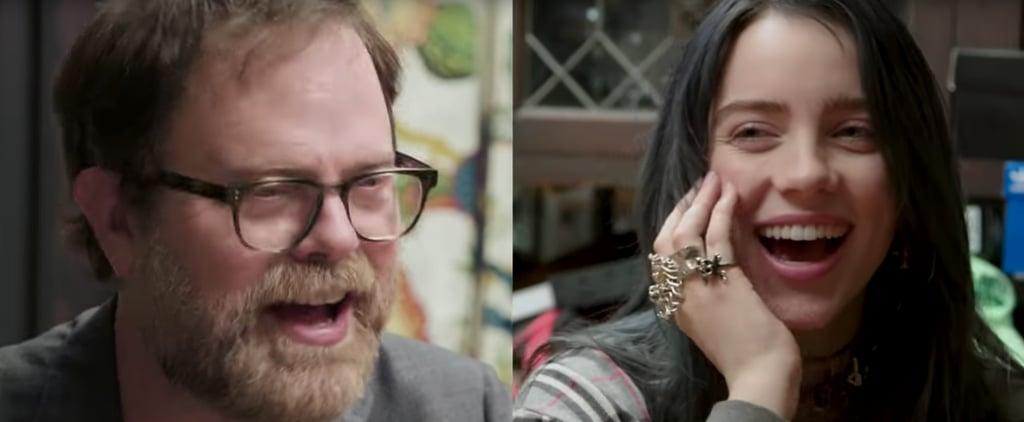 Billie Eilish Takes The Office Quiz With Rainn Wilson Video