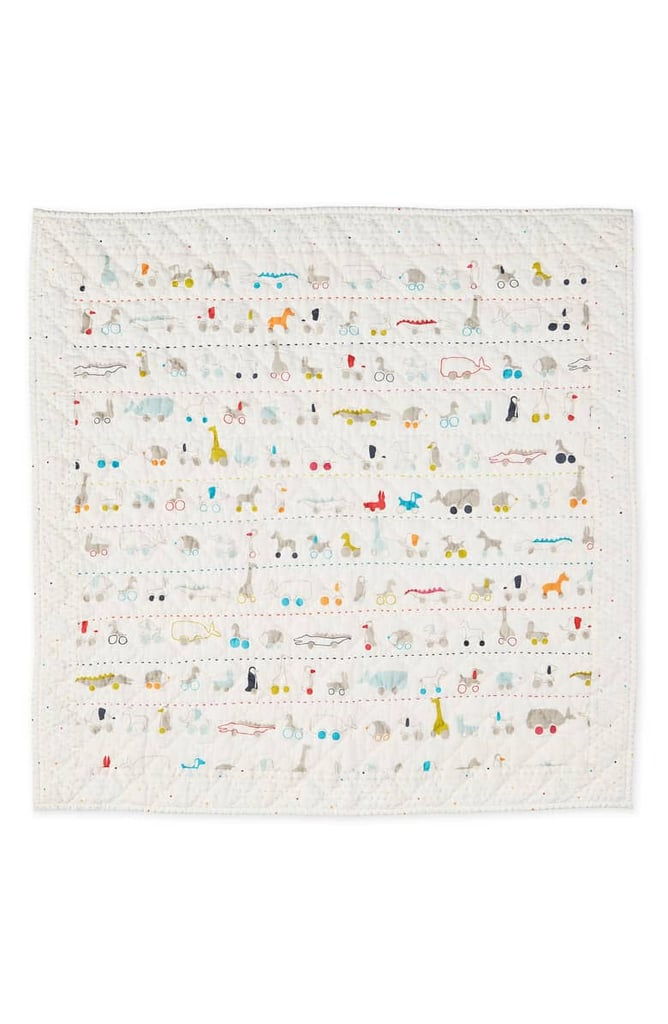 Pehr Pull Toys Print Quilted Blanket