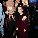 Pictured: Evan Ross, Ashlee Simpson, Bronx Wentz, and Jagger Ross