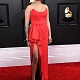 Ella Mai at the 2020 Grammys