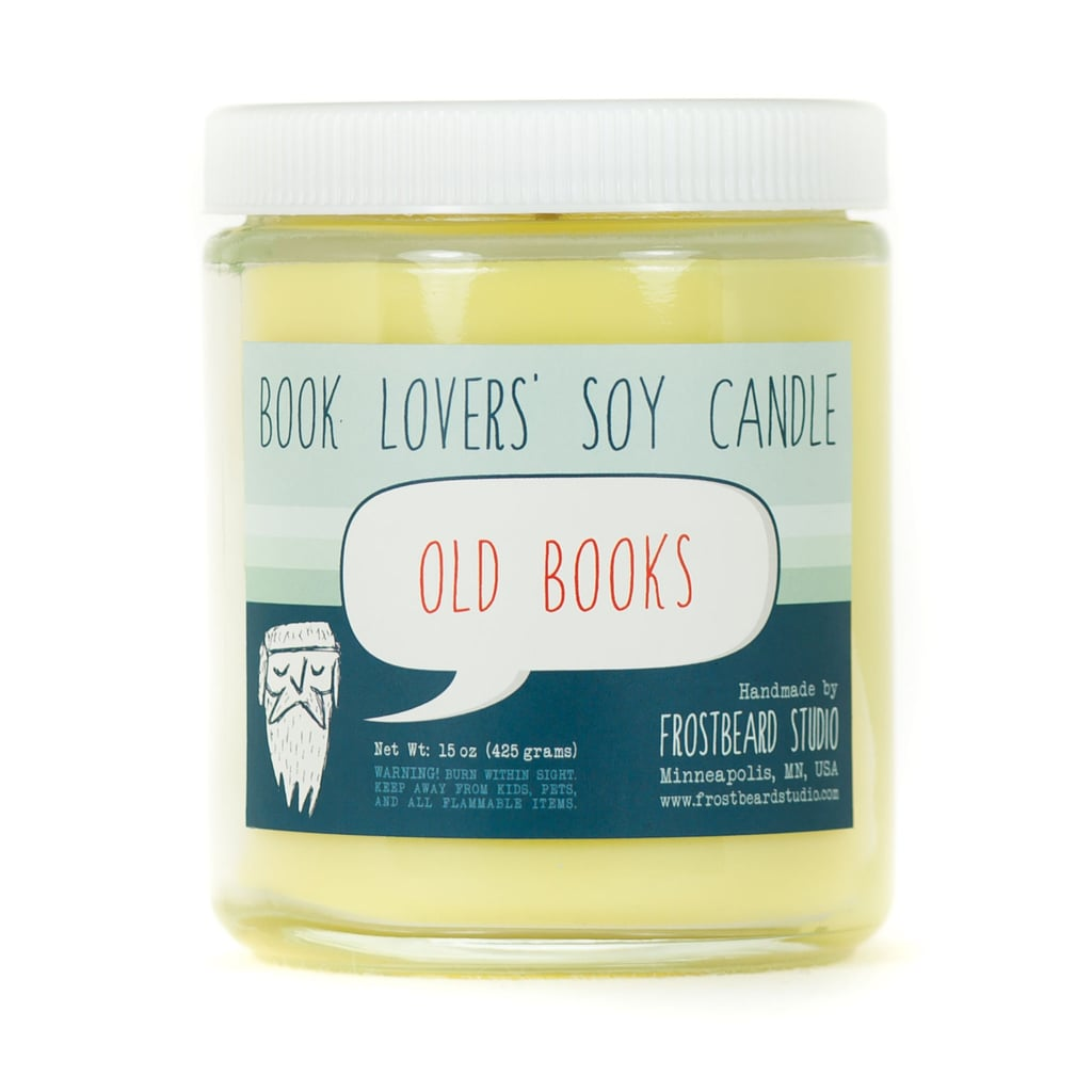 Old Books Soy Candle ($18)