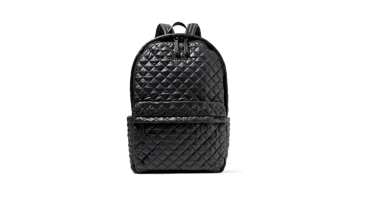 4c179dd501 MZ Wallace Metro Leather-Trimmed Quilted Shell Backpack