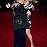 Pictured: Carrie Fisher and Billie Lourd