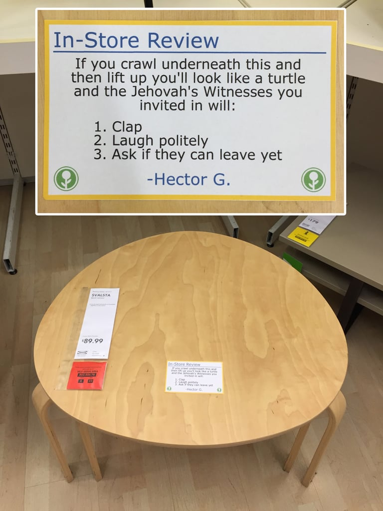 Guy Posts Funny In-Store Ikea Reviews | POPSUGAR Home Photo 10