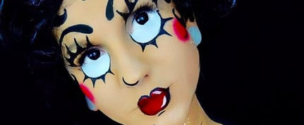 12 Betty Boop Makeup Looks for a Sexy 'n' Sweet Halloween Costume