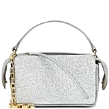 Wandler Yara Box Mini glitter shoulder bag