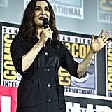 Pictured: Rachel Weisz at San Diego Comic-Con.