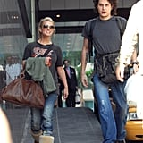 Jessica Simpson joined John Mayer for his Miami show in January 2007.