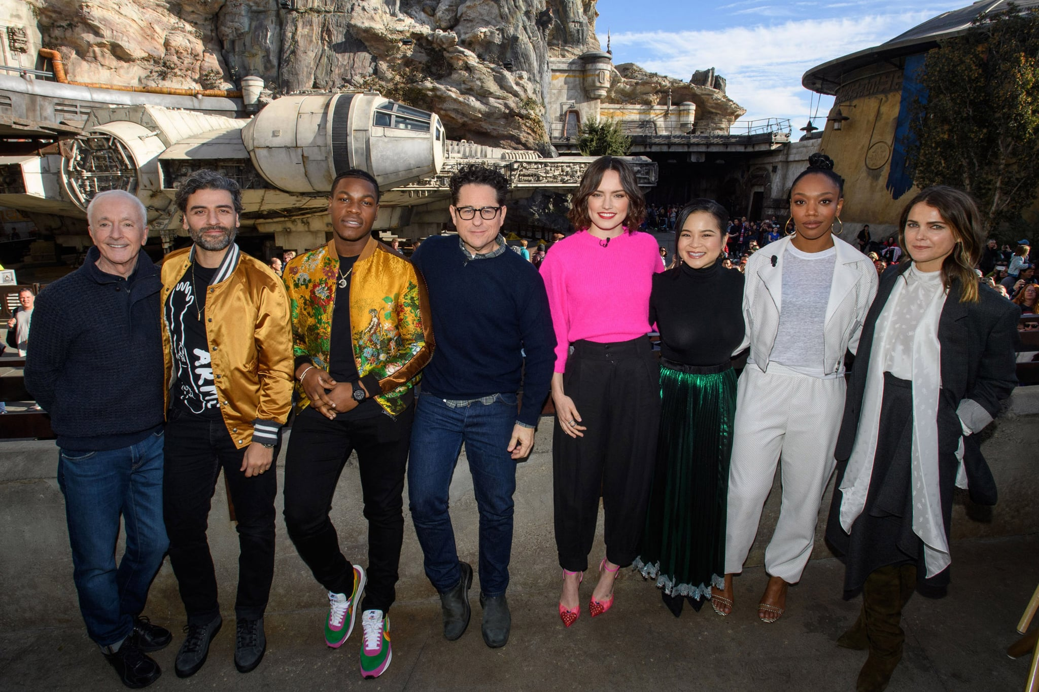 Star Wars Rise Of Skywalker Cast On Staying In Franchise Popsugar Australia Entertainment