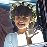 Meghan's goddaughter Rylan Litt was also one of her bridesmaids.