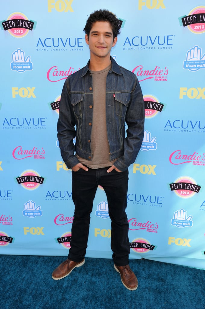 Tyler Posey attended the 2013 Teen Choice Awards.