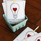 You Light Up My Life Valentines