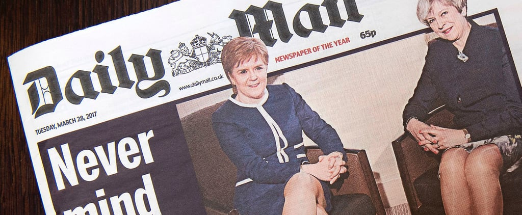 This Sexist Newspaper Cover of 2 World Leaders Is Causing a Social Media Sh*tstorm