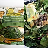 Pick Up: A Complete Salad: Kale & Hemp Seeds With Dates, Parmesan Cheese, Almonds & Lemon Vinaigrette ($4-$5)