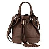 See by Chloe Vicki Leather Bucket Bag, Chocolate ($495)