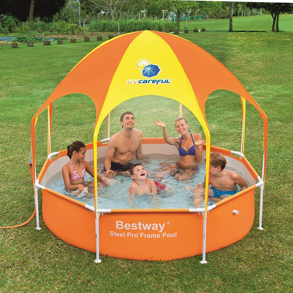 Backyard Garden Summer Water Party 125x71x27inch-7 People Kiddie Pool Inflatable SooNLY//Inflatable Pool for Kid and Adult,Outdoor Pink