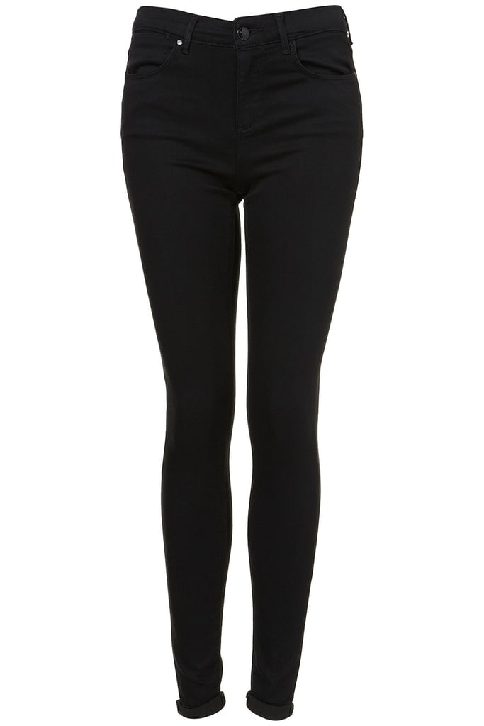 A long skinny jean that's just slightly high-waisted — this MOTO supersoft skinny Leigh jeans ($76) hits all the right notes.