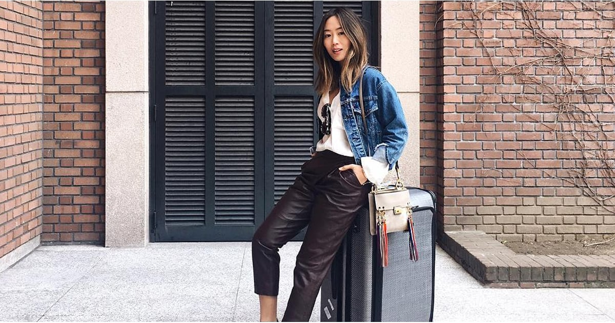 what to wear on a long flight