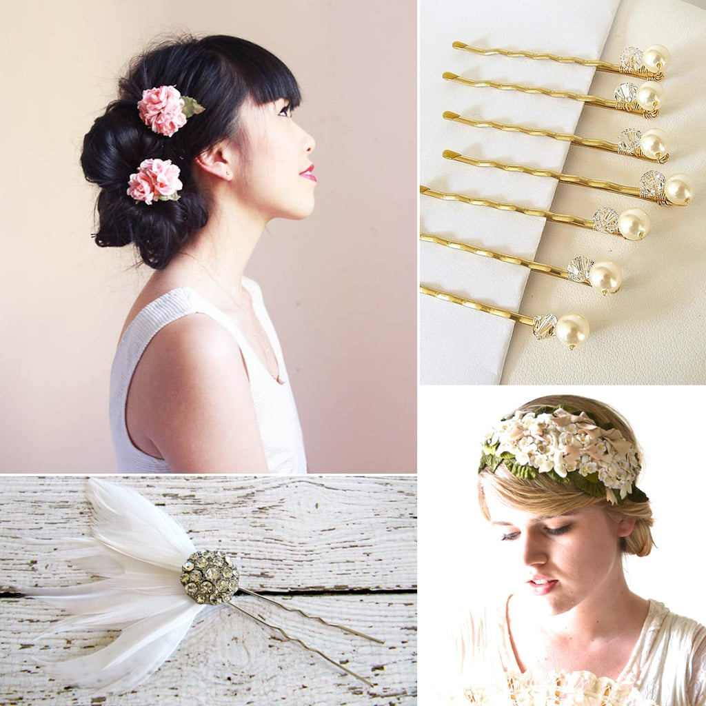 Wedding Hair Accessories on Etsy | POPSUGAR Beauty