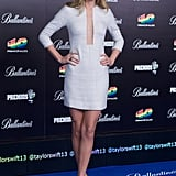 Taylor Swift attended the 40 Principales Awards in Spain.