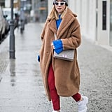 With Bright Colours and a Long Teddy Coat