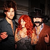 Lady Antebellum channeled other country acts: Brooks & Dunn and Reba McEntire.  Source: Instagram user lady_antebellum