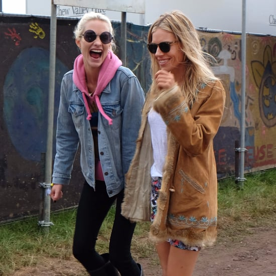 Celebrities at Glastonbury Festival | June 2017