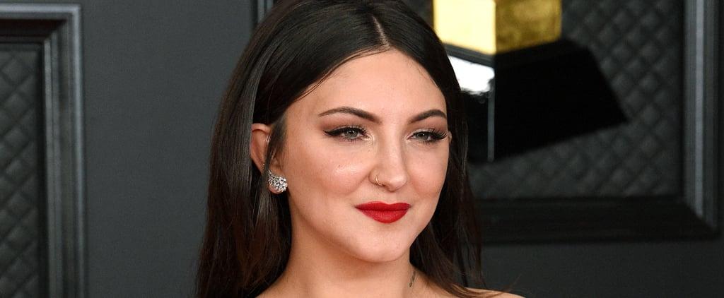 Julia Michaels Normalizing Body Hair Grammys Red Carpet 2021