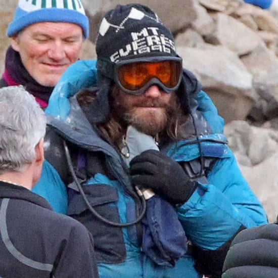 Jake Gyllenhaal With a Beard on Everest Set | Pictures