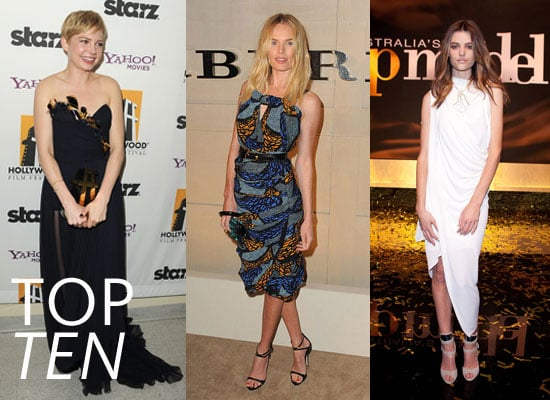 Top Ten Best Dressed Celebrities of the Week including Lauren Conrad, Olivia Palermo, Montana Cox & More!
