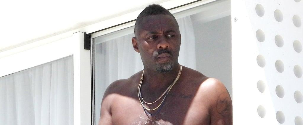Idris Elba Shirtless Pictures in Ibiza June 2019