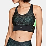 UA Armour® Crossback Clutch Print Sports Bra