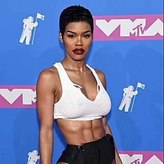 Teyana Taylor at the 2018 MTV VMAs