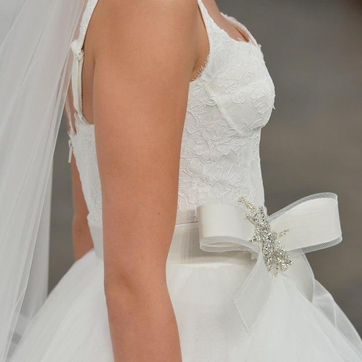 You'll Want to Get a Good, Close Look at These Wedding Gowns