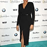 Jennifer Hudson made a splash on the Tiffany blue carpet at the Women in Film party.
