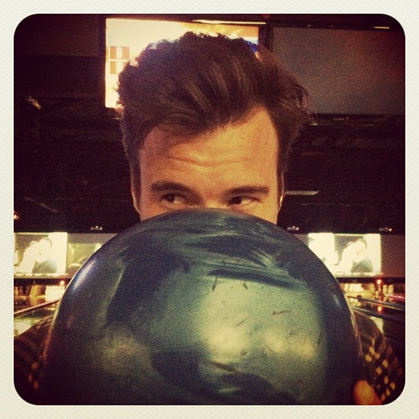 Lauren Conrad went bowling with her new love, William Tell. Source: Instagram user laurenconrad
