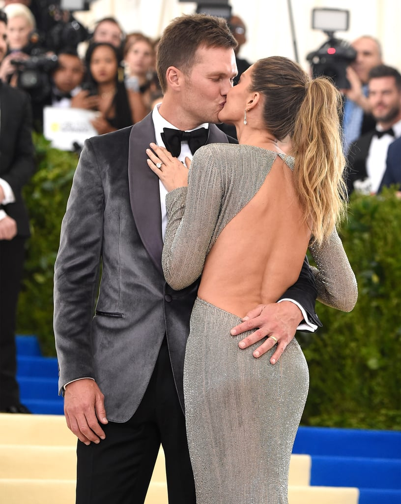 Tom Brady and Gisele Bündchen arrived in style for the Met Gala in NYC on Monday. Gisele wore a stunning tk and Tom looking handsome in tk as they showed off their usual steamy PDA while posing for photos on the red carpet. The couple is co-chairing the annual event with Vogue editor-in-chief Anna Wintour, Katy Perry, Pharrell Williams, and Caroline Kennedy. It's the first time the supermodel and Super Bowl winner have attended the gala since 2014. Scroll through to see Tom and Gisele's best photos from the night!
