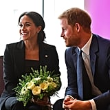Prince Harry and Meghan Markle at the 2018 WellChild Awards