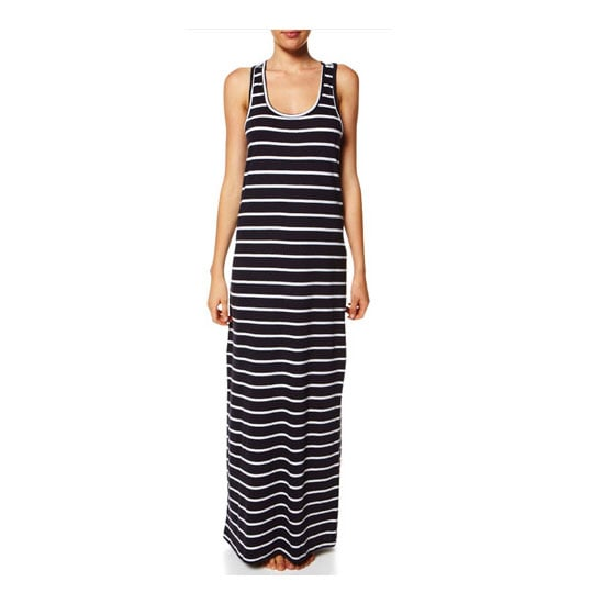 A cotton maxi for those Summer morning brunch dates. — Laura, shopstyle.com.au country manager Dress, $37, Just Add Sugar at Surf Stitch
