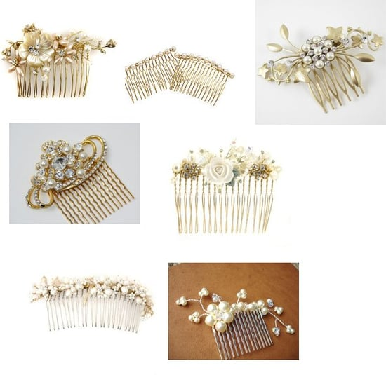 Baubled Hair Combs